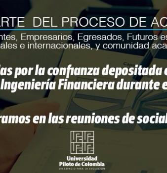 ACREDITACION  PROGRAMA  DE INGENIERIA FINANCIERA 2015