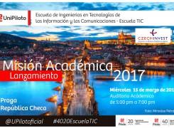 Información Misión Académica a Praga