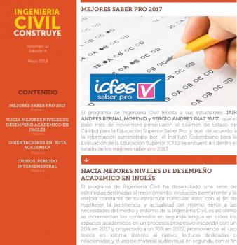 INGENIERIA CIVIL CONSTRUYE MAYO 2018 (CURSOS INTERSEMESTRALES)