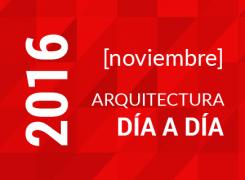 Arquitectura día a día / Cronograma Octubre / 2016