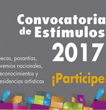 CONVOCATORIA ESTIMULOS 2017 MINCULTURA