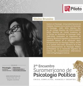 Invitados. 2º Encuentro Suramericano de Psicología Política: Crisis, conflictos, avances y desafíos