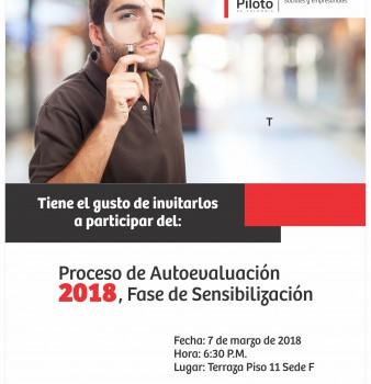 """""""ECOPILOTO: RECONOCE Y EVALÚA TU PROGRAMA"""". Proceso de Autoevaluación 2018. Fase de Sensibilización."""