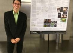 1er. puesto estudiante de Ingeniería de Sistemas- V EXPO-PÓSTER REDIS