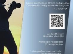 PRIMER CONCURSO DE FOTOGRAFÍA PARA EGRESADOS