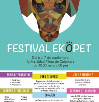 Festival EKOPET 6 y 7 de septiembre.