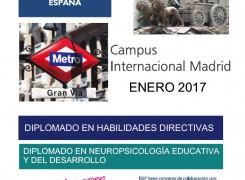 CURSOS DE ACTUALIZACIÓN ISEP(ESPAÑA) – ENERO 2017