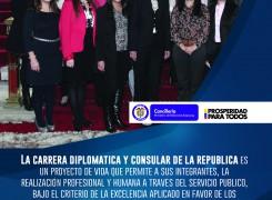 Charla del Ministerio de Relaciones Exteriores sobre el concurso de ingreso a la Carrera Diplomática y Consular de la República