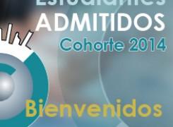 Admitidos Cohorte 2014