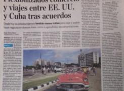 Flexibilizados comercio y viajes entre EE.UU. y Cuba tras acuerdos