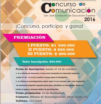 IV CONCURSO DE COMUNICACIÓN