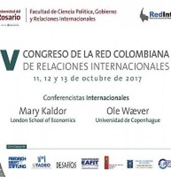 V Congreso de la Red Colombiana de Relaciones Internacionales.