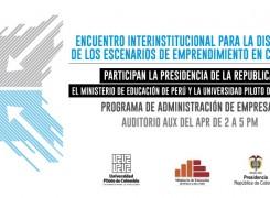 Encuentro Interinstitucional Administración de Empresas.