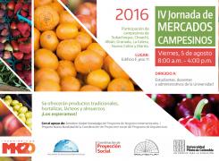IV JORNADA DE MERCADOS CAMPESINOS