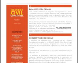 BOLETIN INFORMATIVO (INGENIERIA CIVIL CONSTRUYE FEBRERO 2018)