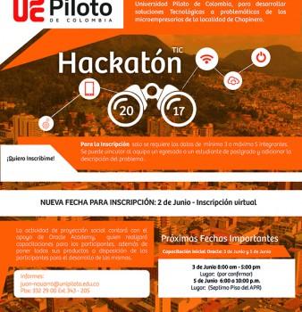 Lanzamiento de Hackatón TIC 2017