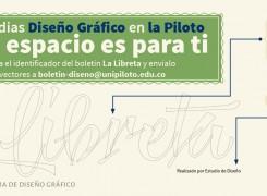 """DISEÑA EL IDENTIFICADOR DEL BOLETÍN DE DISEÑO GRÁFICO, """"LA LIBRETA"""""""