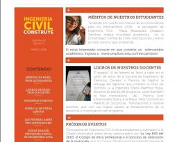 BOLETIN INFORMATIVO (INGENIERIA CIVIL CONSTRUYE MARZO 2018)