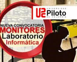 NUEVA CONVOCATORIA MONITORES  LABORATORIO DE INFORMÁTICA