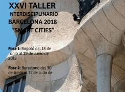 XXVI TALLER INTERNACIONAL INTERDISCIPLINARIO BARCELONA 2018