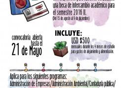 Beca Intercambio Académico al Perú