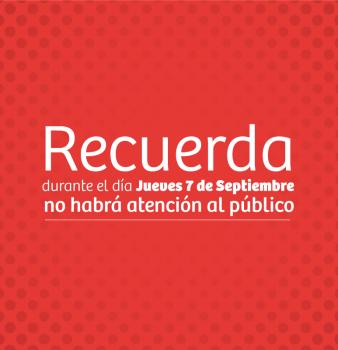 7 de Septiembre Día cívico
