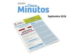 Boletín 5 minutos Septiembre