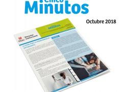 Boletín 5 minutos. Octubre. IV Foro por la permanencia Estudiantil