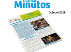 Boletín 5 minutos octubre