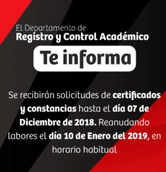 Información importante sobre petición certificados y constancias