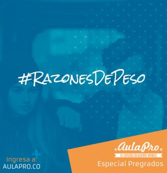 #RazonesDePeso
