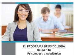Psicomuestra académica. Psicología