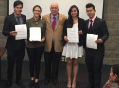 Premiación I Concurso de Investigación en el Aula